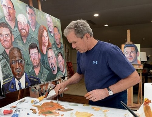 I Went To See President George W. Bush's Portraits Of Courage Exhibit, Here's What I Experienced