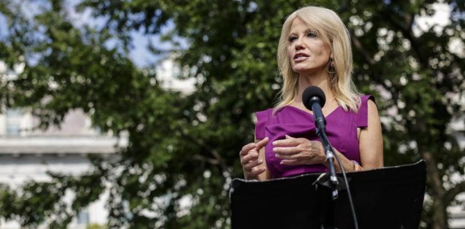 Thank You For Paving The Way For Female Leaders, Kellyanne Conway