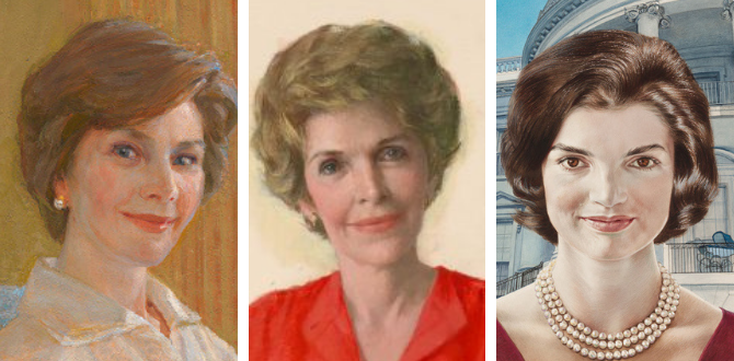 Everything You Need To Know About The National Portrait Galley's First Ladies Exhibit